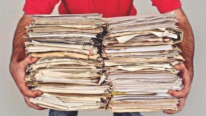 🥇 Прием макулатуры в Самаре по выгодным ценам, сдать по адресу пункта  приема, вывоз | «ТБО Архив»